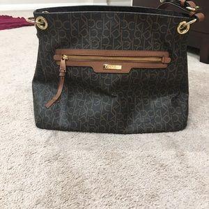 Calvin Klein medium size purse like new tote
